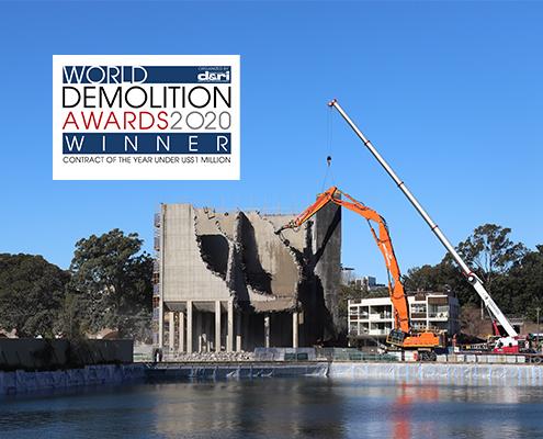 Blackwattle Bay Batching Plant Liberty Industrial Demolition