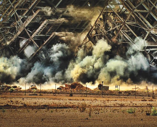 Deconstruction, Demolition, Explosive Demolition, Liberty Industrial
